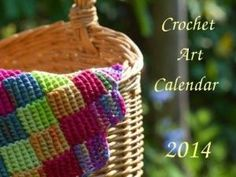 Crochet Art Calendar 2014 - FREE by lauren