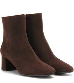Prada Suede ankle 55 boots Borwn                $129.00