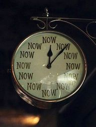 The time is now. Am I living in chronos or kairos time?