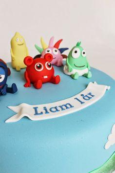 Då var ytterligare en tårta med Babblarna färdig, gjorde min första för bara några veckor sedan :) Idag är det Liam som ska firas och jag h...