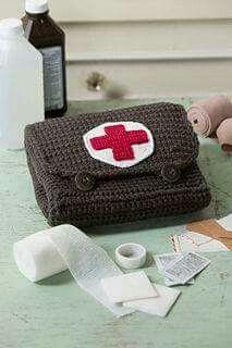 Crochet Medicine Bag Pattern : 1000+ images about Crochet medical trinkets on Pinterest ...