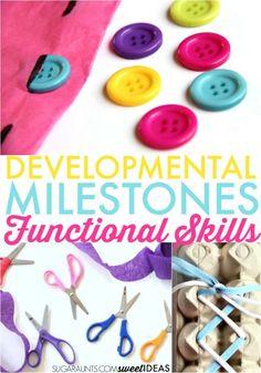 Developmental stages of childhood- progression of fine motor skills in kids