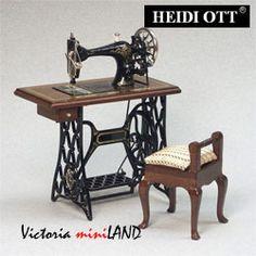 HEIDI OTT - Working Sewing Machine