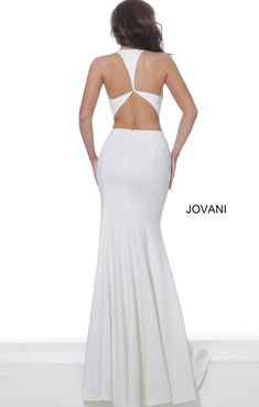 Queenly | Buy and sell prom, pageant, and formal dresses White Fitted Dress, Best Gowns, Trumpet Dress, A Line Gown, Girls Dresses, Formal Dresses, Off White Color, First Girl, Plunging Neckline
