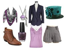 Tim Burton's Alice in Wonderland Mad Hatter inspired outfit