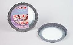 Flan Tin With Removable Glass Base 24cm - Kitchenique