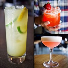 Our new summer menu is in the works so these spring bartender creations are only around for another week. Have you tried the Kiwi Herman PGP and Eggo My Mango? Tick tock...