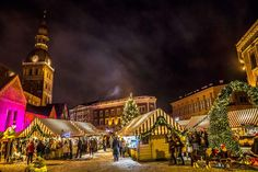 The Christmas market in Riga!