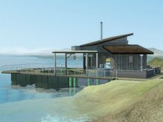 For sims. - Waters Edge All-Fish Farm #Sims3