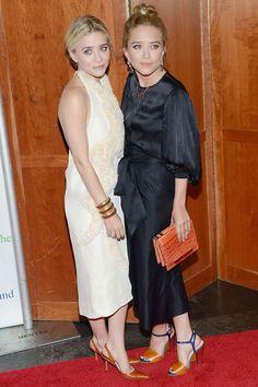 Ashley and Mary-Kate Olsen in The Row #bestdressed #mrblasberg #derekblasberg #harpersbazaar #fashion #olsentwins #therow