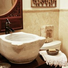 turkish hammam sink, bathroom - photo by apartmentf15