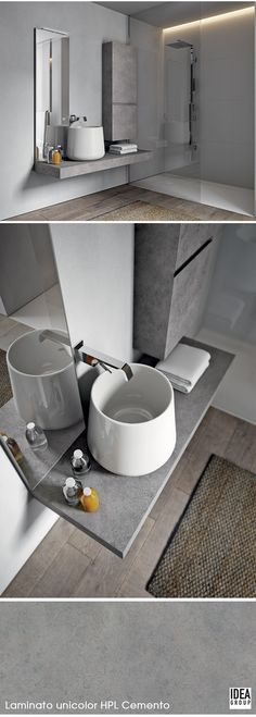 161 best bathrooms images on pinterest half bathrooms - La residence lassus par schlesinger associates ...