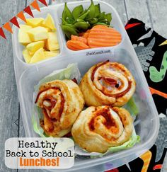 Welcome to the start of a new school year! Keep energy up with these healthy back to school lunches!
