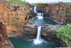 Mitchell Falls, David Evans, Western Australia, Gaia, Mother Nature, Waterfall, Earth, River, Seasons