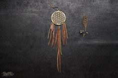 FLOWER of LIFE DREAMCATCHER  Boho Hippie Tribal Yoga by SiamicWear