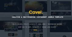 Vina Cavel - Creative and Multipurpose VirtueMart Joomla Template