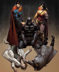 Batman Superman Wonderwoman #ComicsAndCoffee