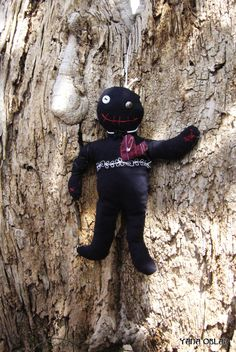 Scary gifts at DaWanda - Dolls – Voodoo lovely hanged doll – a unique product by YanaOblap via en.dawanda.com
