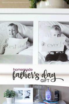 Homemade Father's Day Gift Idea