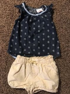 #ad Toddler Girls Outfit Hanna Andersson Denim top 90 and Baby Gap Bloomer Shorts 3T http://rover.ebay.com/rover/1/711-53200-19255-0/1?ff3=2&toolid=10039&campid=5337950191&item=273116871027&vectorid=229466&lgeo=1