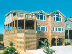 Pleasure Palace #95 - Semi-oceanfront house - Avon, Outer Banks (OBX) | RentABeach Available June 28 - July 5