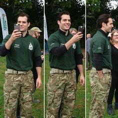 "Vía Twitter @pmy69 ""Henry Cavill at the Royal Marines Commando Challenge today"" #henrycavill #HCPR #HenryCavillPR #RMcharity #CommandoChallenge #rmcc2016"