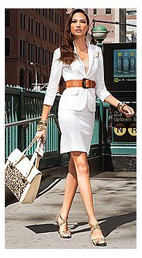 Perfect White Suit