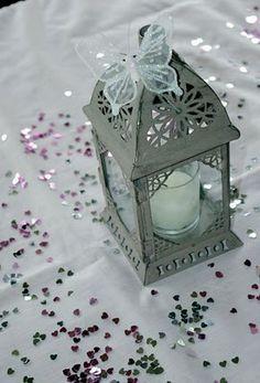 lantern centrepieces