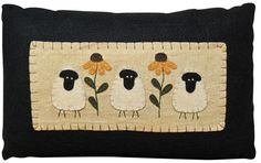 three sheep pillow