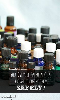 Please read especially if you are new to essential oil use.  Must read information on essential oil safety