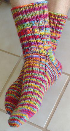 Ravelry: Rainbow Socks pattern by Jackie Erickson-Schweitzer