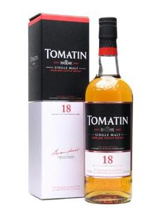 Tomatin (18 yr old scotch). I really enjoyed this scotch. Was given to me as a birthday present by a friend. It was hard making it last a month.