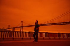 California Wildfires, Surreal Photos, Central California, Really Hard, End Of The World, Natural Disasters, Golden Gate Bridge, Climate Change, West Coast