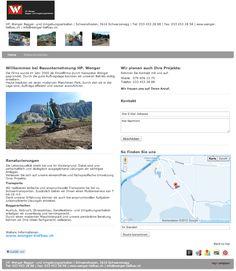Bauunternehmung, Aushubarbeiten, Transporte, Spezialtiefbau, construction firm, excavation operation, Transports, special heavy construction