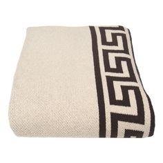 Greek Key Blanket