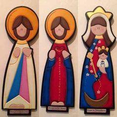 Artesanias Virgenes En Mdf - Bs. 3.800,00