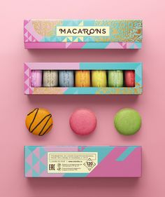 Macarons on Packaging of the World - Creative Package Design Gallery