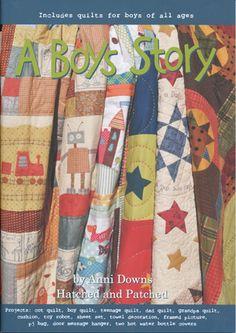 boys quilt book.....