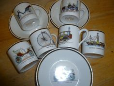 Espresso Cups  Demi Tasse Limoges French Vintage x by CafeParisien, £26.99