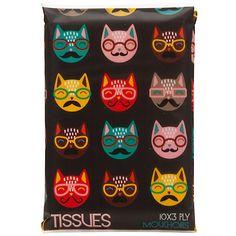Buy Cat Tissues, Black Online at johnlewis.com