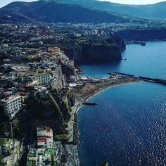 A #landscape #shot from #montechiaro  a place nearby #sorrento #italy #tourism #tourist #twitter #sea #trip #travelling #travel #coast #photooftheday
