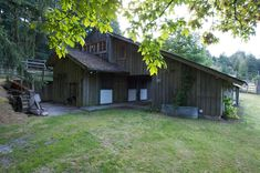 """The enduring barn~  """"Having set out to assert himself as a residential architect, Hank Schubart had in effect become Salt Spring Island's 'village architect'."""" –Houses Made of Wood and Light, by Michele Dunkerley, p. 77"""