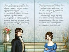 Elizabeth refuses Darcy. From Pride and Prejudice (Usborne Young Reading Series), Adapted by Susanna Davidson, Illustrations by Simona Bursi.