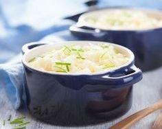 Purée de pommes de terre au bleu en mini cocottes