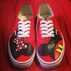 Mickey & Minnie Adult Custom VANS Shoes