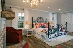 Chip and Joanna take a drab '60s ranch house in the suburbs and turn it into a colorful and comfortable home with a rustic feel and cottage accents. From the experts at HGTV.com.