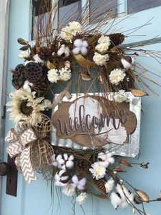 Awesome Fall Decoration For Front Door 37 Holiday Wreaths, Christmas Decorations, Easy Fall Wreaths, Halloween Wreaths, Spring Wreaths, Country Wreaths, Rustic Wreaths, Primitive Wreath, Outdoor Wreaths