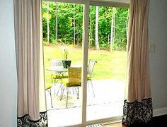 How To Cover Ugly Vertical Blinds ... Hate The Blinds On Our Sliding Glass  Door ... May Need To Try This. | Small Apartment Ideas | Pinterest | Sliding  ... Part 69