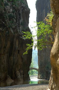 Portitsa gorge, Grevena-West Macedonia, Greece