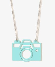 Camera Charm Necklace | FOREVER21 - 1044260467